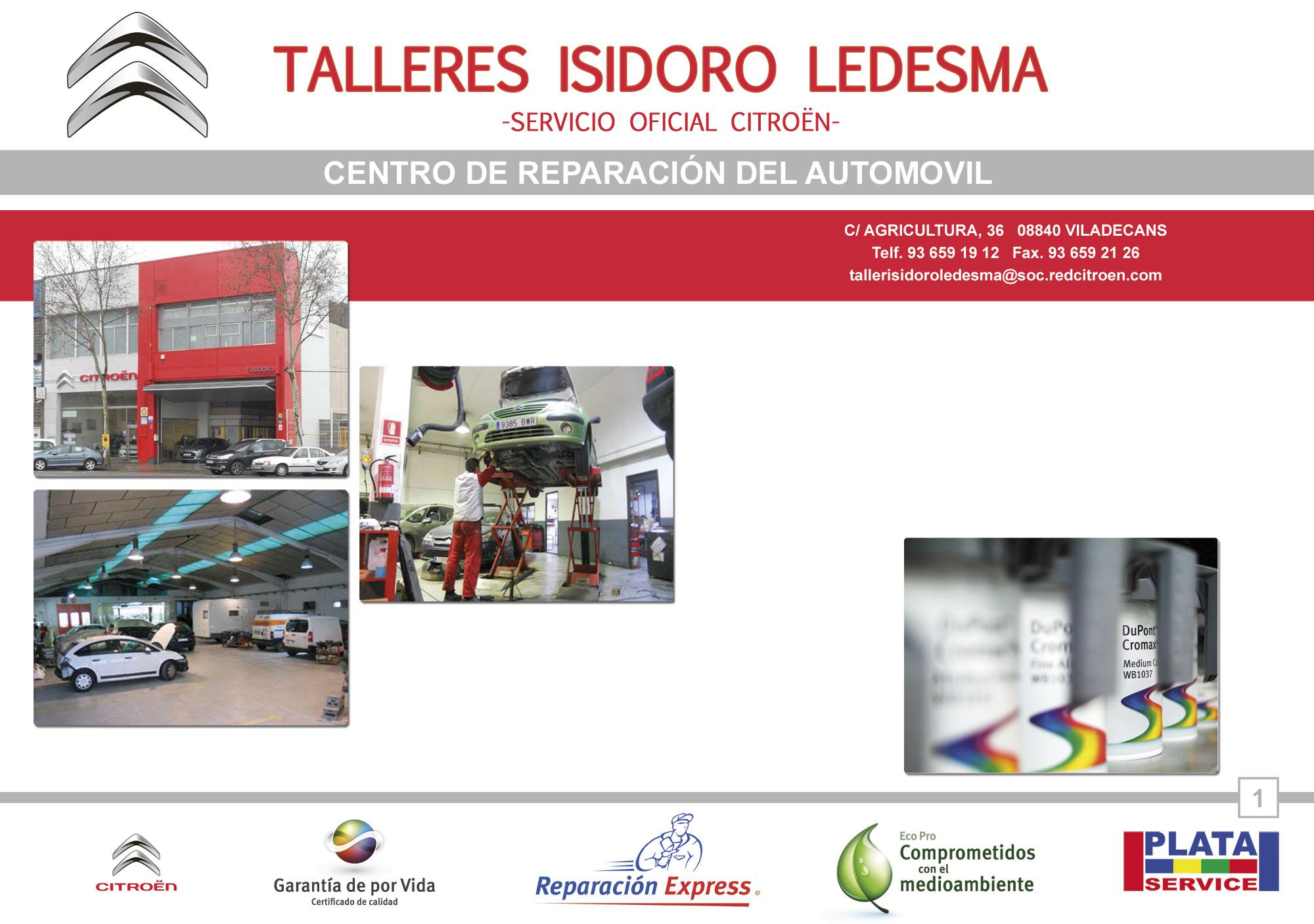 Taller TALLER ISIDORO LEDESMA S.L. (Citroen) en Barcelona