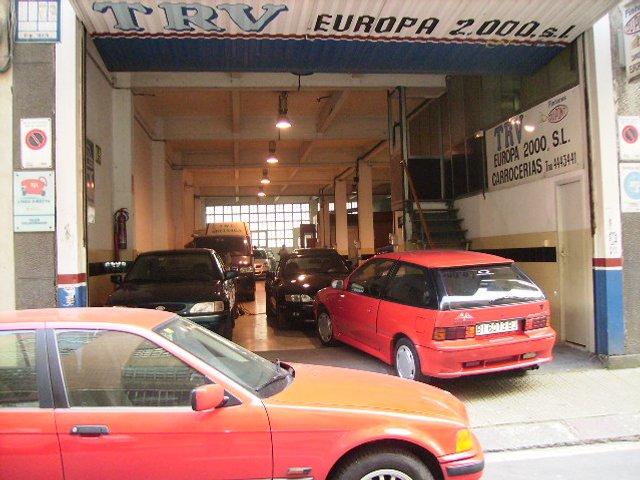 Taller TRV EUROPA 2000 S.L en Vizcaya