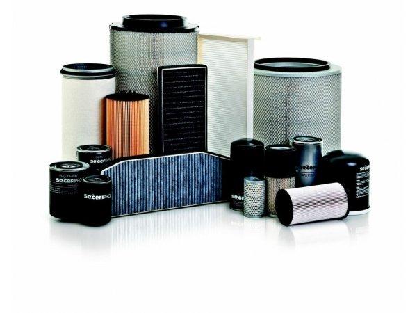 Cambio de filtros de mantenimiento