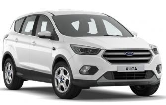 Nuevo Ford Kuga Business Renting