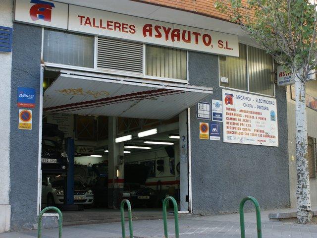 Taller ASYAUTO S.L. en Madrid
