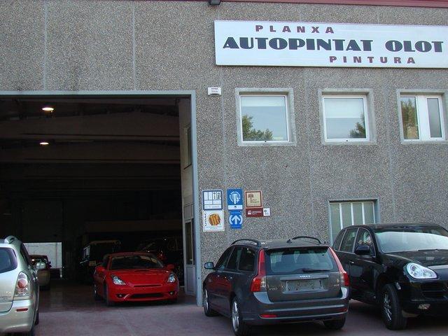 Taller AUTOPINTAT OLOT S.C en Girona