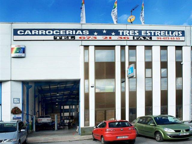 Taller MANUEL ARIAS MENDEZ Y OTROS, C.B. (CARROCERIAS TRES ESTRELLAS) en Vizcaya