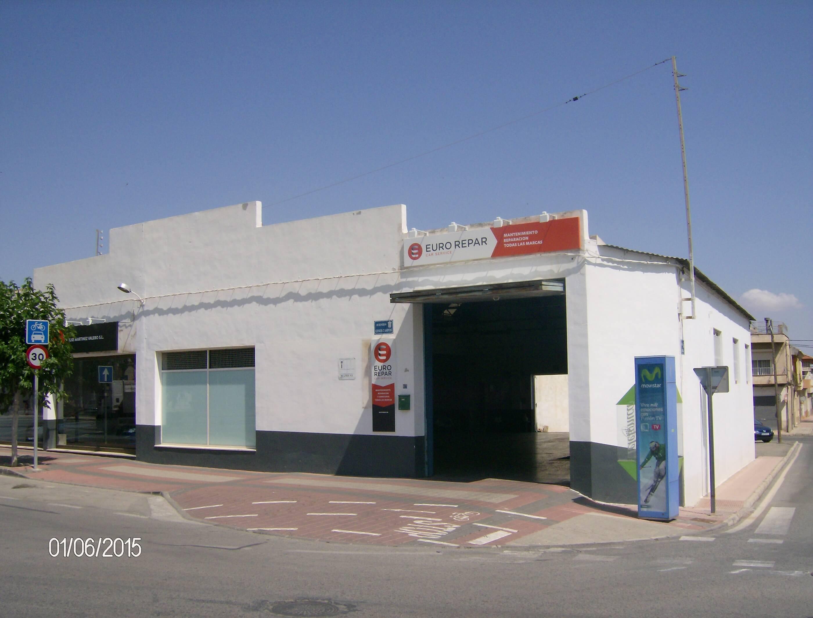Taller JOSE MARTINEZ VALERO, S.L. en Murcia