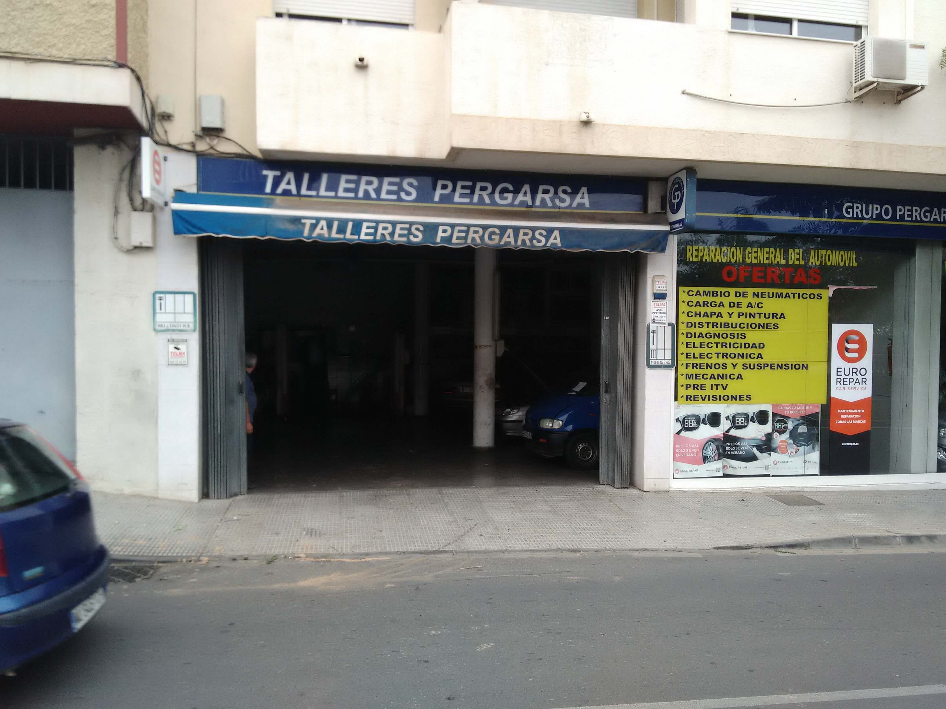 Taller GRUPO PERGARSA, S.L en Murcia