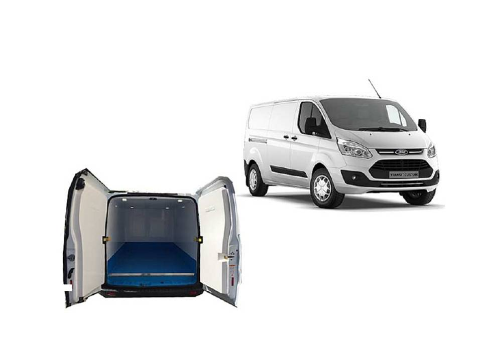 Ford Custom Van Isotermo 300 MEHV (Hybrid) 130CV Trend+ 3 plazas Renting