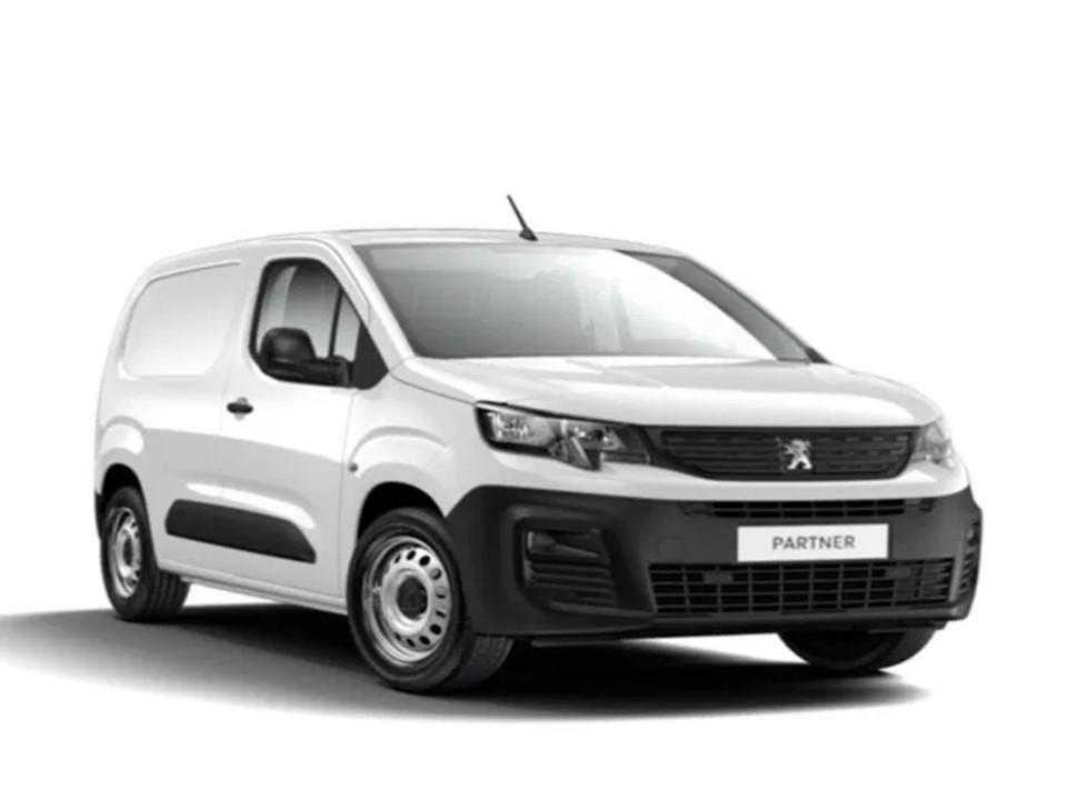 Peugeot Partner Pro Standard 600kg BlueHDi 100CV Renting