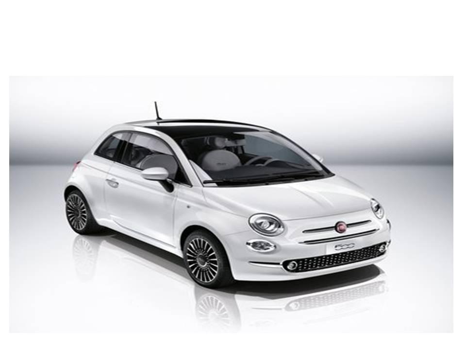 Fiat 500 Pop S7 1.2 8v. Renting