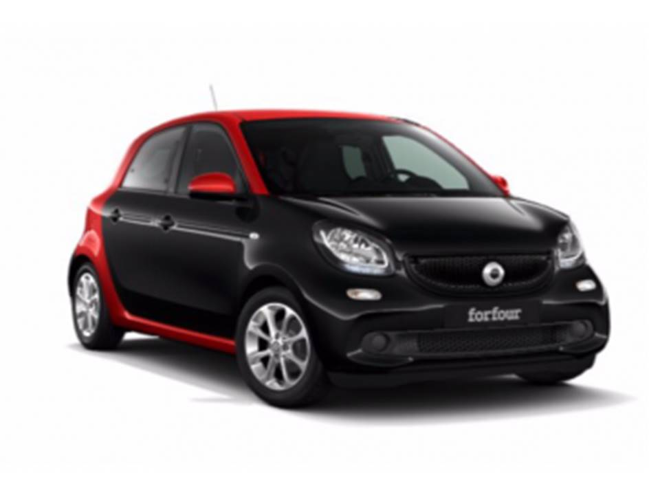 SMART FORFOUR 81CV electric drive. Renting