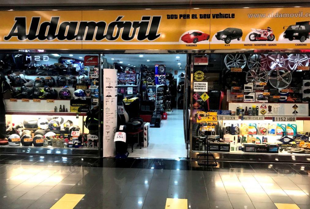 Tienda de accesorios Aldamóvil Baricentro