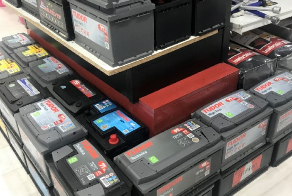 Amplio stock de Baterías