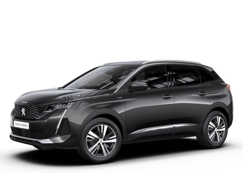 Peugeot 3008 Hybrid 225 e-EAT8 Allure Pack  Renting