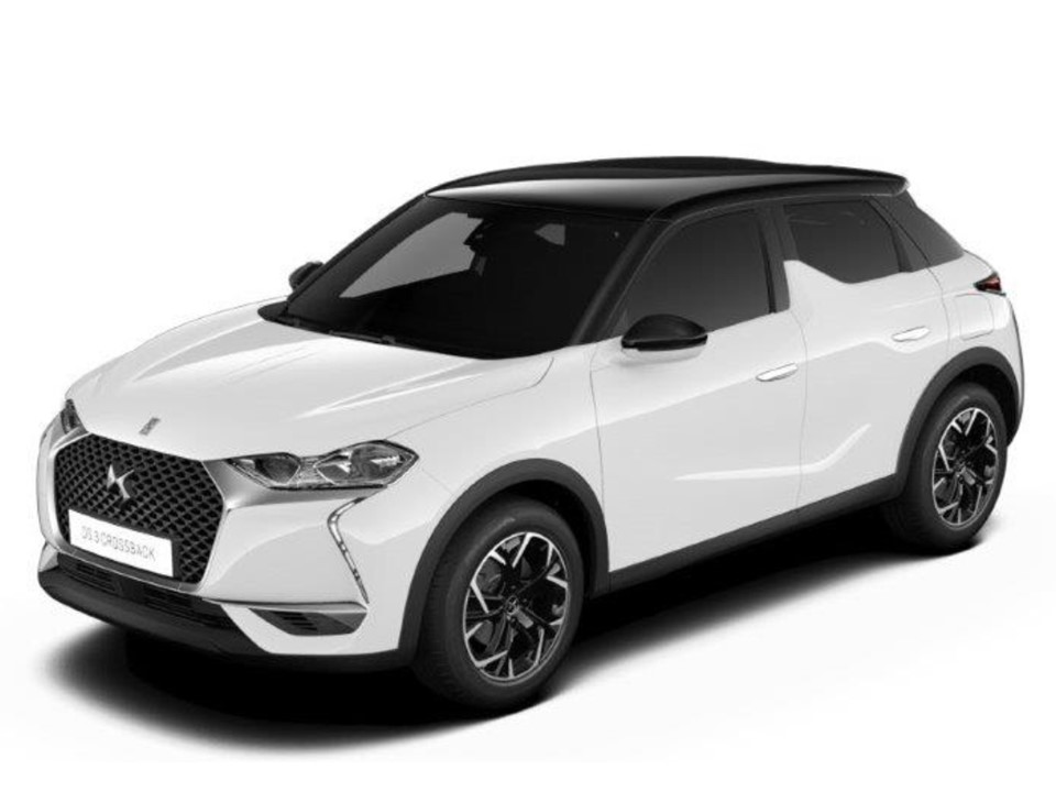 DS 3 CROSSBACK BLUE HDI 110CV SO CHIC Renting