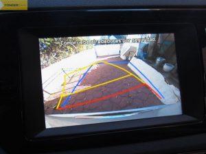 Kia Niro puesto cámara trasera