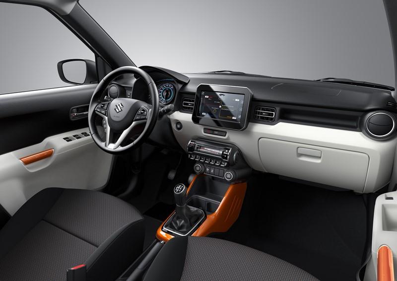 Interior Suzuki Ignis 2017