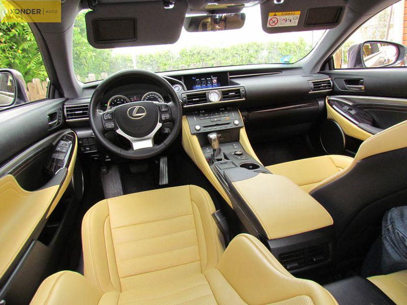 Lexus RC 300h prueba 2017
