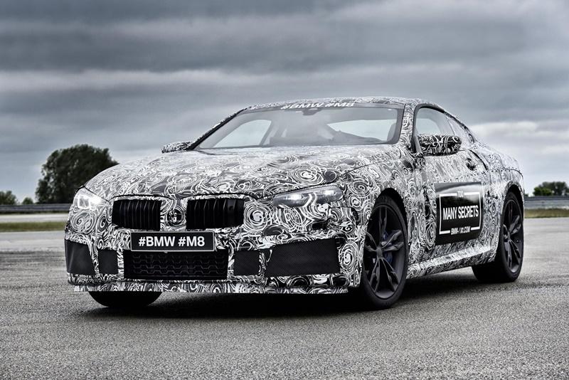 BMW Serie 8 M8 camuflaje