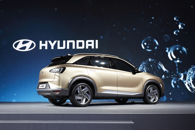 Hyundai Fuel Cell SUV