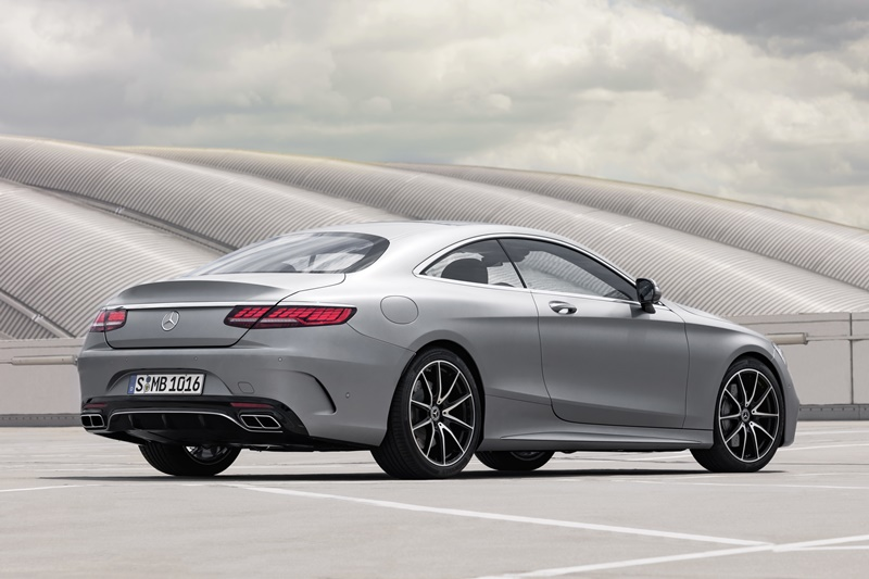 Mercedes S Coupe 2018