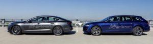 Audi A5 Sportback g-tron and Audi A4 Avant g-tron
