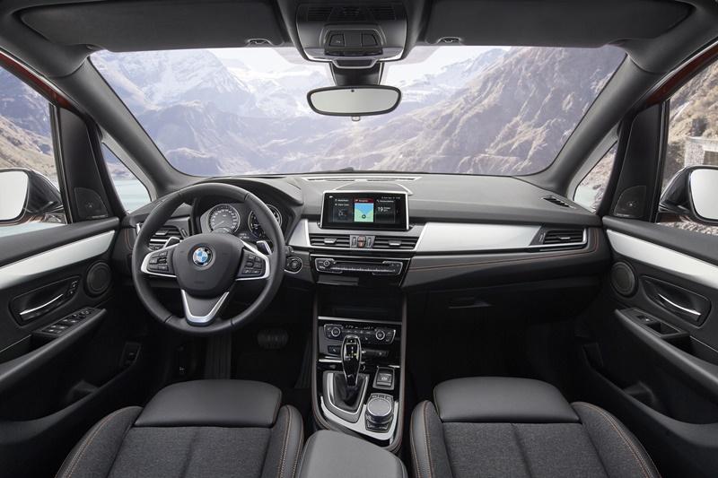 BMW Active Tourer interior