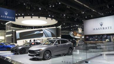 stand Maserati los angeles 2017