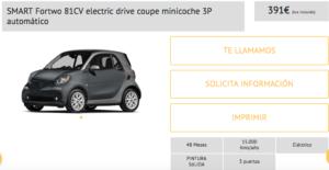 coche electrico smart