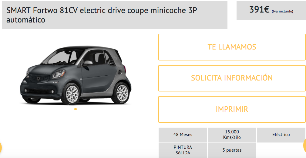 coche electrico smart